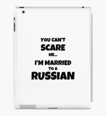 Russian Husband Wife Married Couple Funny Gift Idea iPad Case/Skin