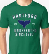 FUNNY HARTFORD UNDEFEATED SINCE 1997 SHIRT Unisex T-Shirt
