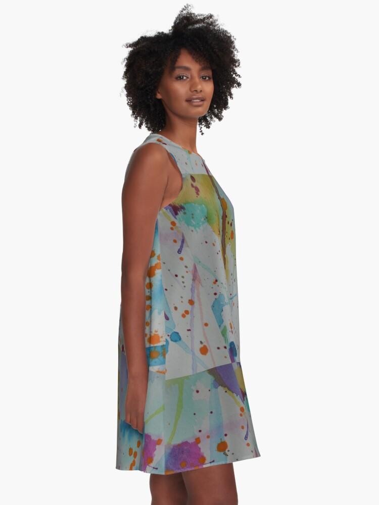 Alternate view of Splash A-Line Dress