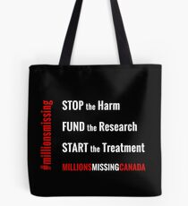 Stop the Harm! Tote Bag