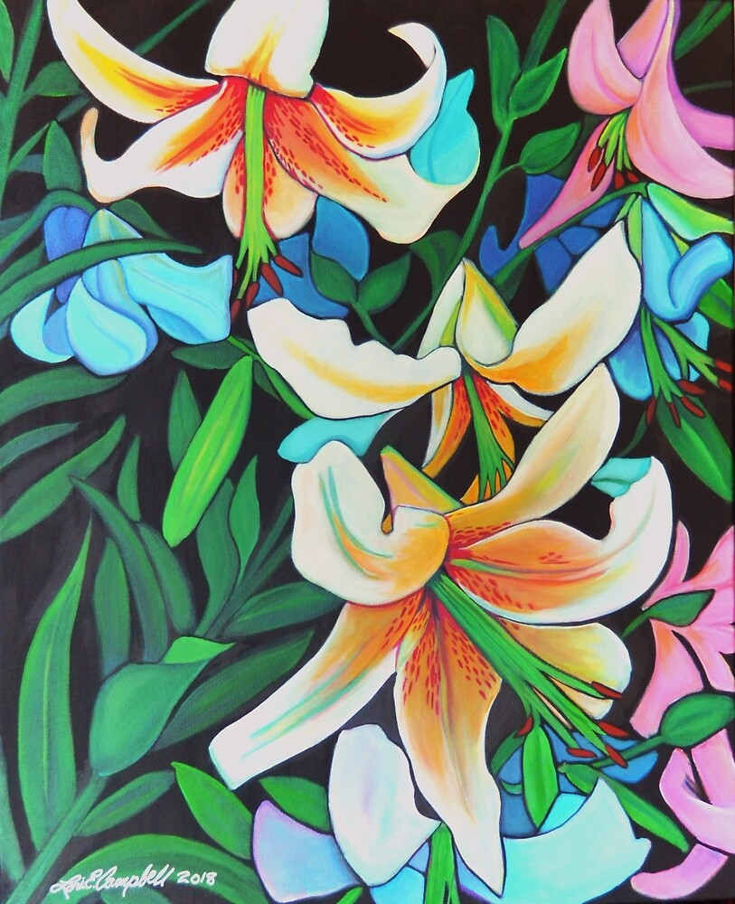 Danger Lilies by Lori Elaine Campbell