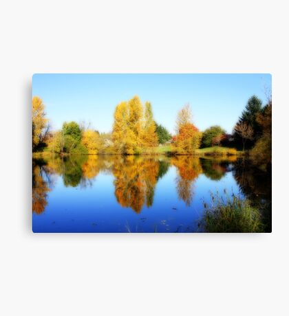 Fall in Eugene Canvas Print