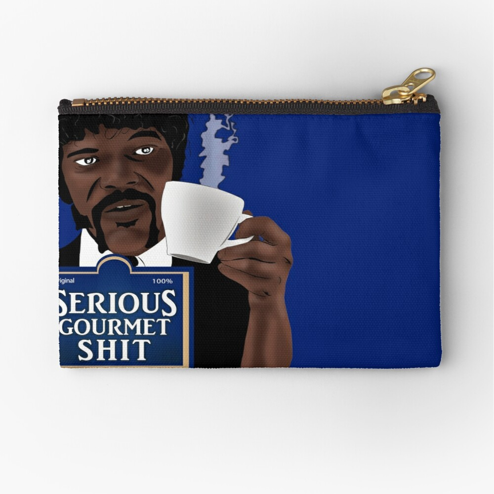 Serious Gourmet Shit Zipper Pouch