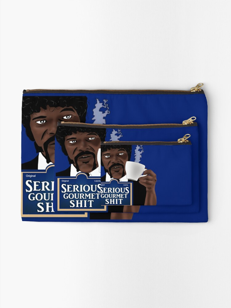 Alternate view of Serious Gourmet Shit Zipper Pouch