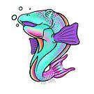 Rainbow Hawaiian Fish by BozSchurr