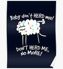 Don't Herd Me Poster