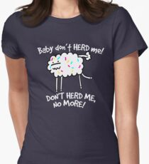 Don't Herd Me Women's Fitted T-Shirt