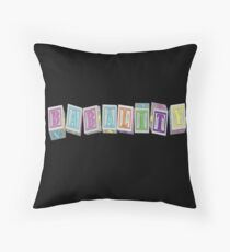 Babality! Throw Pillow