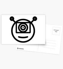Our GlipGlop Face Postcards