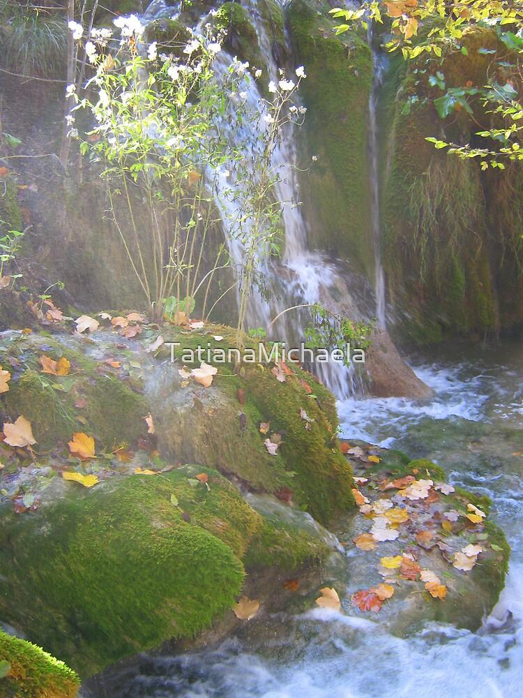 MISTY WATERFALL by TatianaMichaela