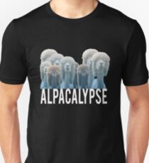 Top Fun Alpaca lover Alpacalypse Gift Design Unisex T-Shirt