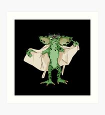 Gremlin Flasher Art Print