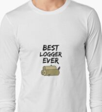 Logger Best Ever Funny Gift Idea Long Sleeve T-Shirt