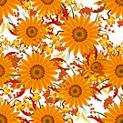 Sunflower Bouquet by FrauleinimStall