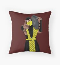 GET OVER HERE AND LISTEN TO THESE DOPE BEATS Throw Pillow