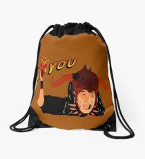 Temple of Love Drawstring Bag