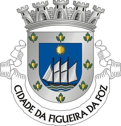 Figueira da Foz coat of arms, Portugal by PZAndrews