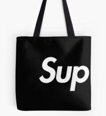 SUPREME SUP BLACK Tote Bag