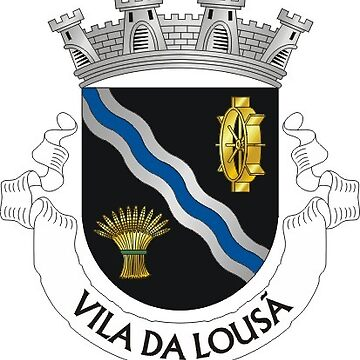 Lousã coat of arms, Portugal by PZAndrews
