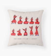 Kate Bush - Wuthering Heights Dance Throw Pillow