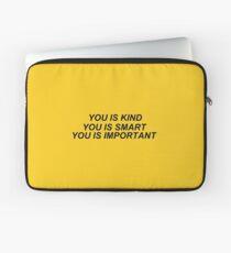 Du bist nett Laptoptasche