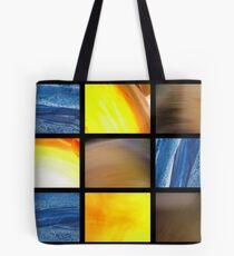 abstract polittico Tote Bag