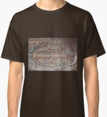 Madaba Map - Jerusalem Classic T-Shirt