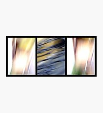 abstract trittico 2 Photographic Print