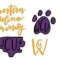 Western Carolina Sticker Pack  by jenecaz