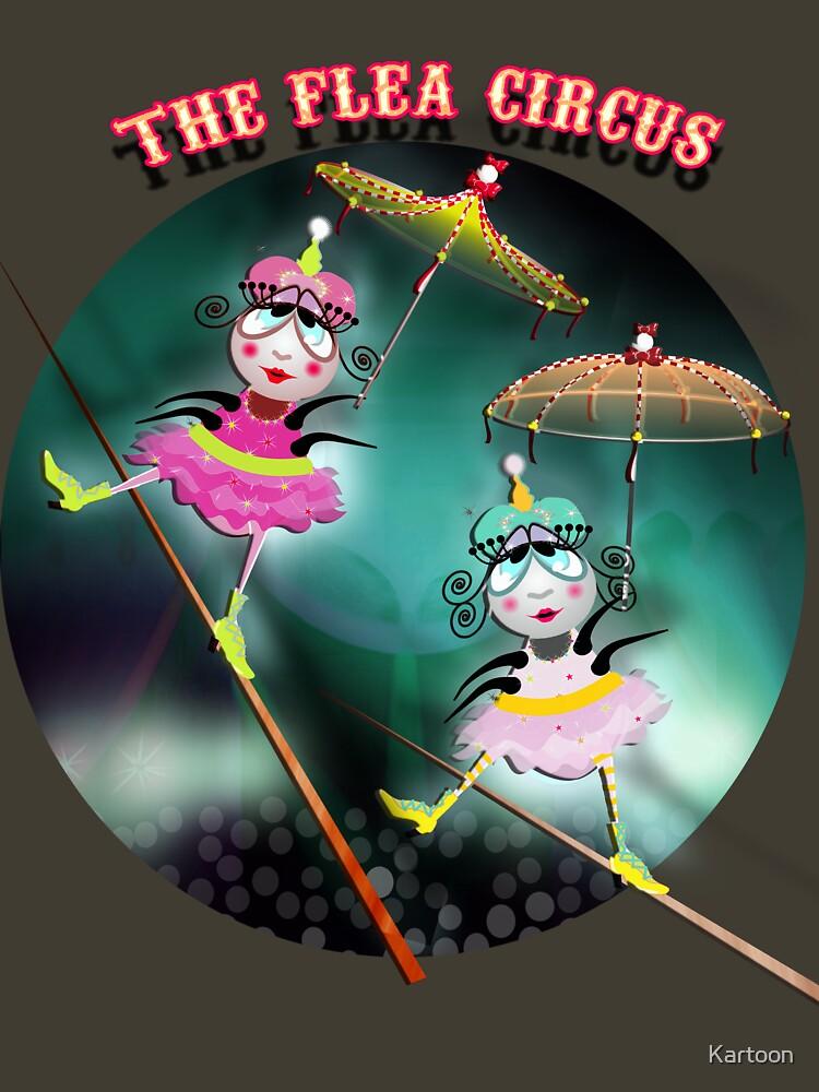 The Fleas Circus - The Tightrope Walker Fleas Sisters by Kartoon