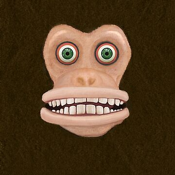 Maniacal Monkey by DomPlatypus