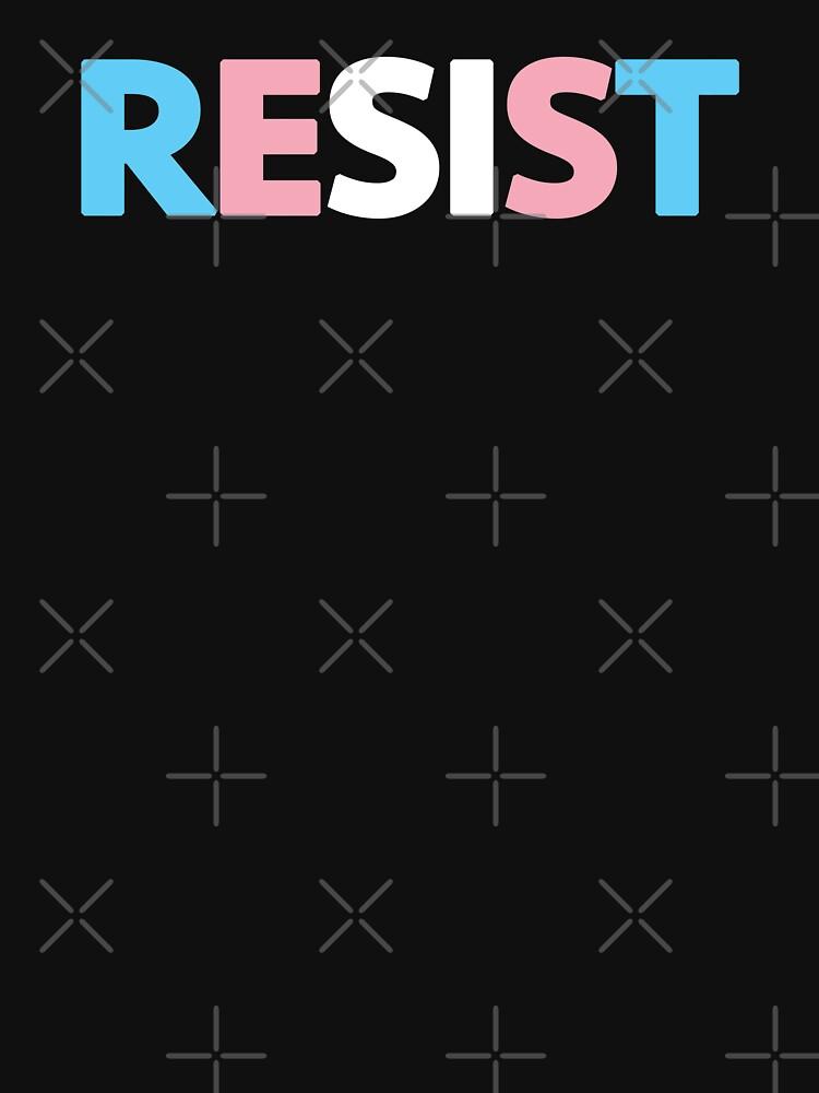 Transgender Resist by DomPlatypus