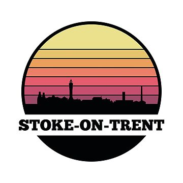 Stoke-on-Trent Skyline (England) by SvenHorn