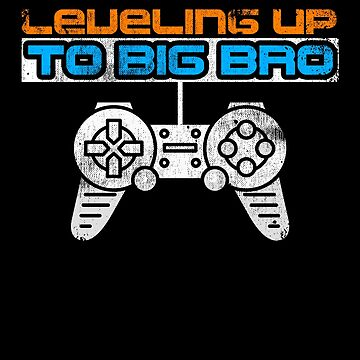 Leveling Up To Big Bro Brother Video Game Family by kieranight