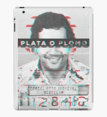 Plata o Plomo Glitch iPad Case/Skin