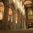 Dunfermline Abbey, Scotland by hans peðer alfreð olsen