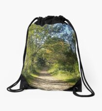 Inviting forest  Drawstring Bag