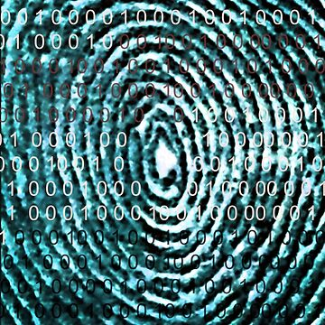 Binary Code Sequence © Copyrighted Thumbprint  by shhevaun