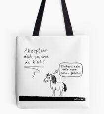 Akzeptanz islieb Cartoon Tote Bag