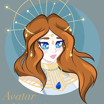 Avatar of the Light Goddess by AnazenArt
