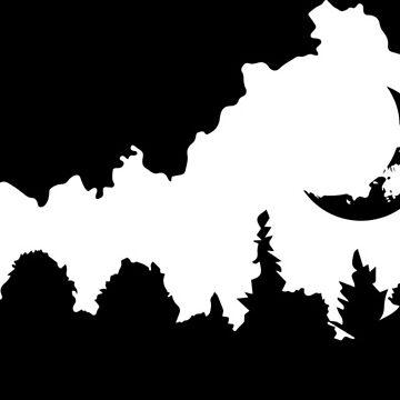 Kentucky Forest Moon by ViktorCraft