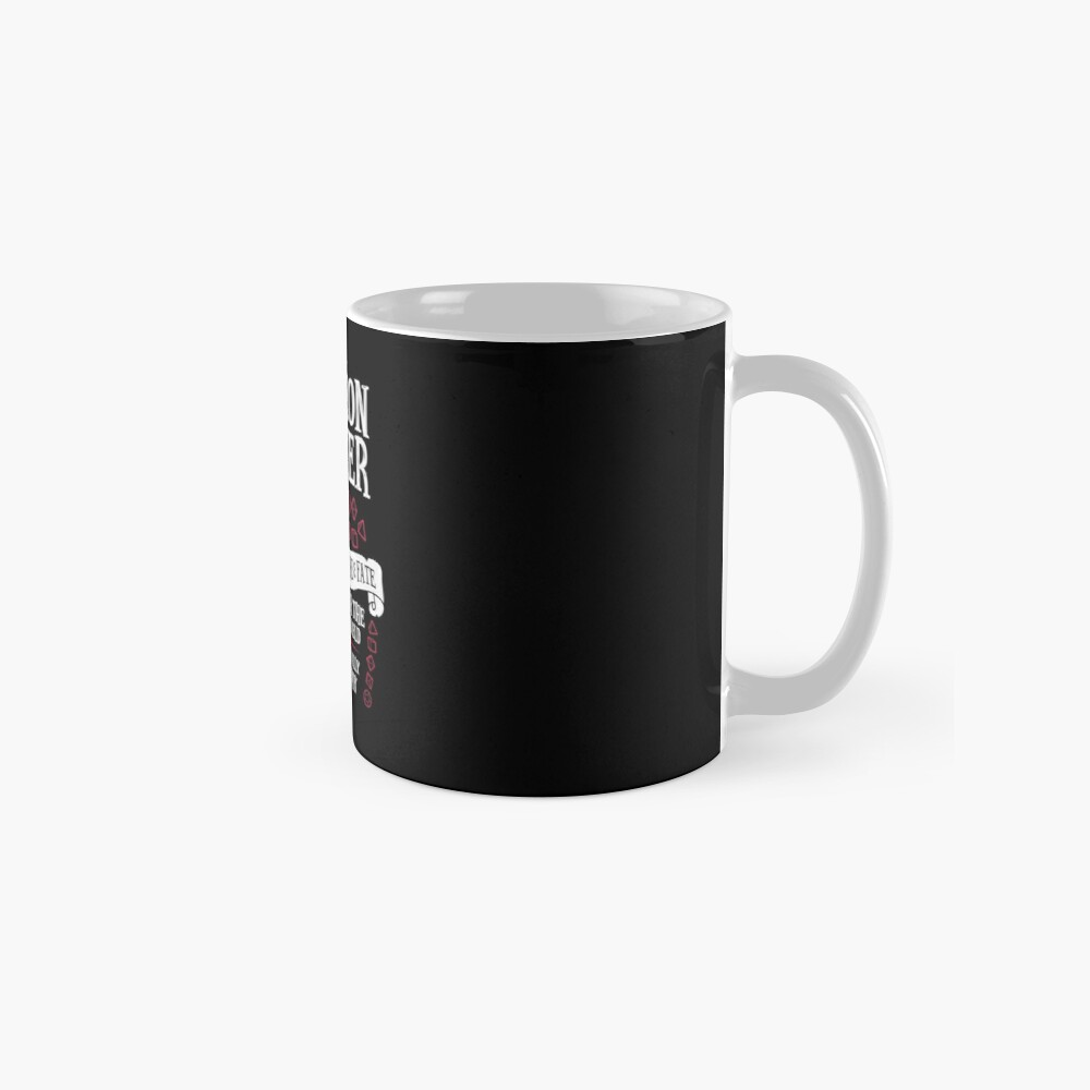Dungeon Master, The Weaver of Lore & Fate - Dungeons & Dragons (White Text) Mugs