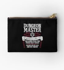 Bolso de mano Dungeon Master, The Weaver of Lore & Fate - Dungeons & Dragons (Texto blanco)