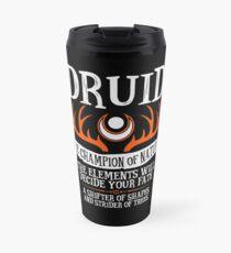 DRUID, THE CHAMPION OF NATURE - Dungeons & Dragons (Black) Travel Mug