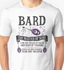 BARD, THE MASTER OF SONG - Dungeons & Dragons (Black) Unisex T-Shirt