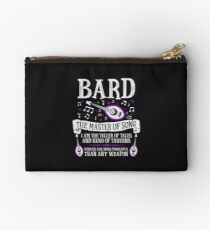 BARD, THE MASTER OF SONG - Dungeons & Dragons (White) Studio Pouch
