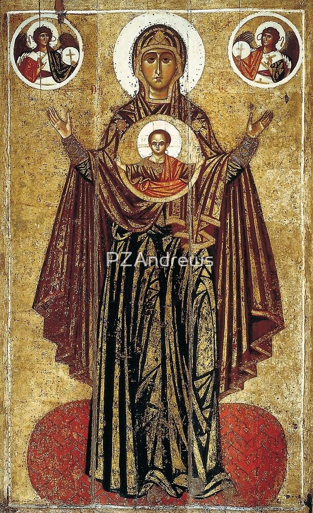 13th-century Great Panagia from Yaroslavl  by PZAndrews