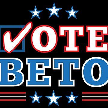 "Texas ""Vote Beto"" O'Rourke for US Senate Election by elvindantes"