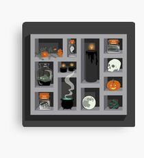 October Collection Canvas Print