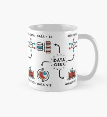 Data T-Shirt for Data Analysts, Scientists, BI, STEM  Mug